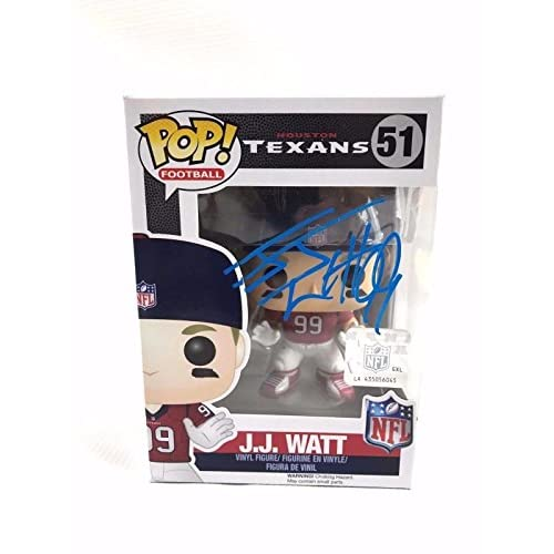 bb4136a14df JJ Watt Houston Texans Autograph Funko POP Authentic Signed COA J.J. - JSA  Certified - Autographed