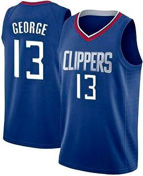 ELC Jersey de Hombre Paul George Los Angeles Clippers # 13 Jersey ...