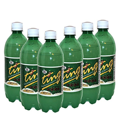 Ting - 20 Oz Plastic Bottle (6 - D&g Dolce