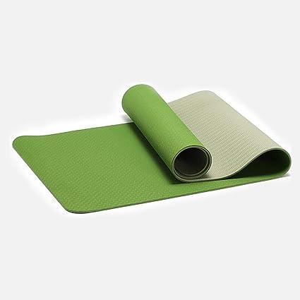 Amazon.com : Shangshu Yoga mat Beginner Fitness mat Three ...