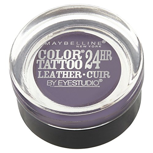 Maybelline New York Eyestudio ColorTattoo Metal 24HR Cream Gel Eyeshadow, Vintage Plum, 0.14 oz.