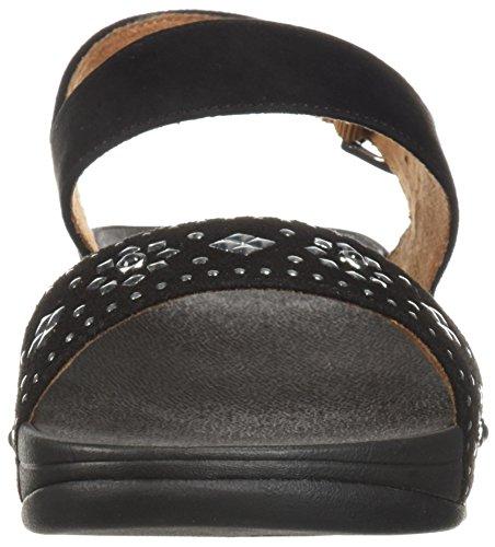 Fitflop Kvinners Lulu Aztek Stud Tilbake-stropp Sandal Sort ...