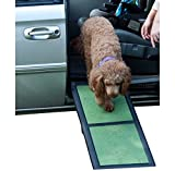 Pet Gear Travel Lite Bi-Fold Half Ramp for Cats and Dogs up to 200-pounds, 42-inch, Sage