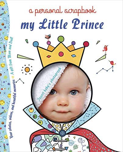 Prima Petites Scrapbook - My Little Prince