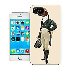Unique Phone Case Dandy Fox Full Hard Cover for iPhone 4/4s cases-buythecase