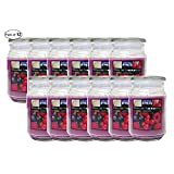 Citi-Lites 18 Ounce Apothecary Jar-Wildberry Blast (Pack of 12)