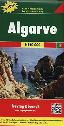 Algarve, Portugal Map