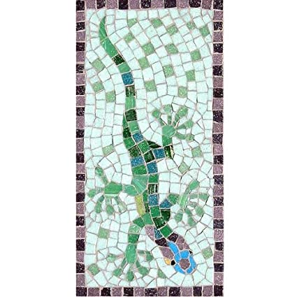 Green Tiles Ready to make Mosaic Chest Kit Everything Inc