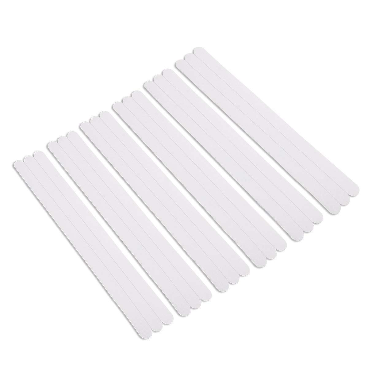 Anti-slip Sticker Strips,Aieve Non-Slip Safety Bath Treads Adhesive Strips Flooring Mats for Bath and Shower(12 Pcs) AieveDirect