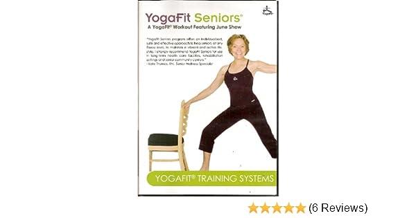 Amazon.com: YogaFit Seniors featuring June Shaw: Movies & TV