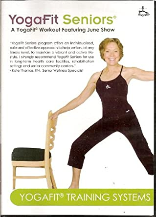 Amazon.com: YogaFit Seniors featuring June Shaw: Movies & TV