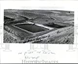 1976 Press Photo Toxic waste dump ponds are considered among best in the nation