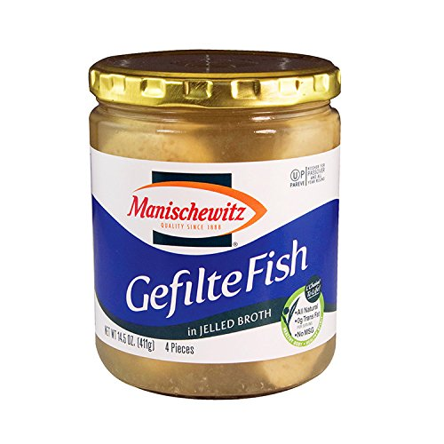 Manischewitz Gefilte Fish (Manischewitz Gefilte Fish in Jelled Broth, 14.50-ounce (Pack of 6))