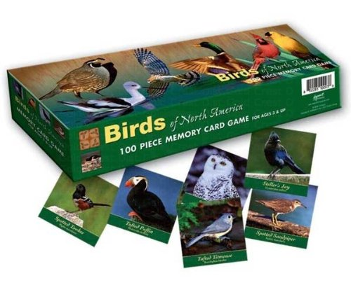 Memory Game Birds of North America
