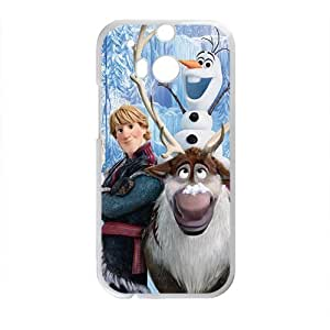 HUAH Frozen fresh cartoon design Cell Phone Case for HTC One M8
