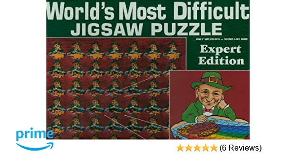 be0aa104 Amazon.com: Leprechauns Luck - World Most Difficult Jigsaw Puzzle (Expert  edition): Toys & Games