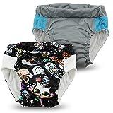 Kanga Care Lil Learnerz Toilet Training Pants, Tokispace & Platinum, Large
