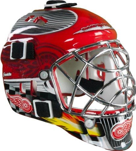 (Franklin Sports NHL League Logo Detroit Red Wings Mini Goalie Mask)