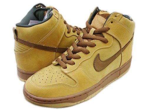 3b8b0038 Amazon | NIKE DUNK HIGH PRO SB 【WHEAT】 MAPLE/BISON-WHEAT 305050-221 (27.0)  | NIKE(ナイキ)
