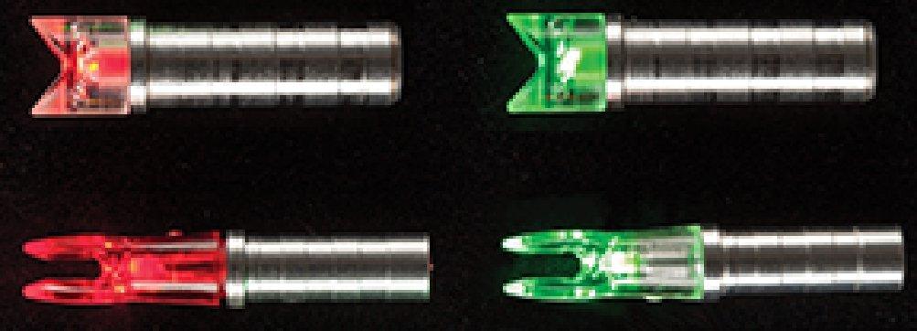 Nufletch Ignitor Nocks .295 X Bolt 3 pk. Flat Green by Nufletch