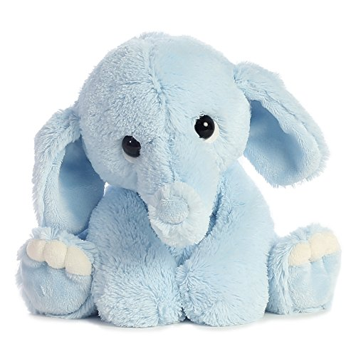 Blue Stuffed Bear - Aurora World Lil Benny Phant, Blue Plush
