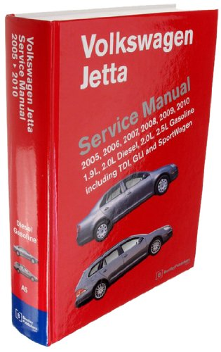 amazon com: bentley w0133-1856409-bnt paper repair manual vw jetta (a5):  automotive