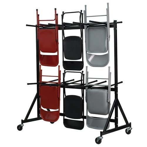 Flash Furniture Hanging Folding Chair Truck , Black - NG-FC-DOLLY-GG