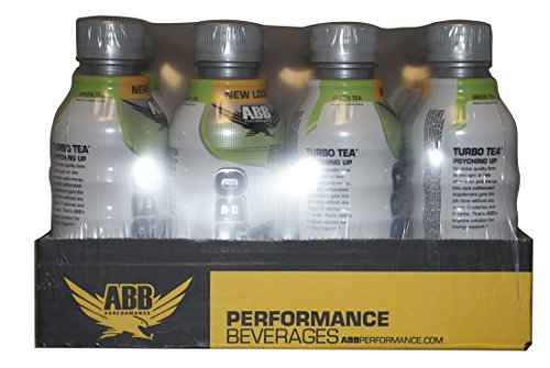 ABB Turbo Tea Zero Green Tea 12 - 18 fl oz (532 ml) Bottles