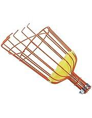Mokyler Fruit Picker Basket, Fruit Picker Twist-On Fruit Picker Tool for an Extension Pole or Telescopic Pole, Fruit Picker Harvester Basket with Cushion for Apple Pear Cherry Orange Fruit Picking