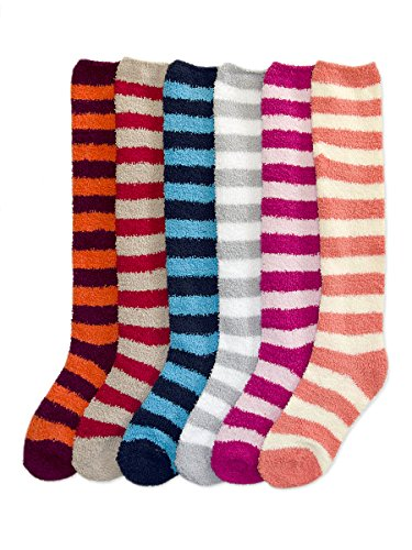 Styleyet Winter Fuzzy Socks Stripe