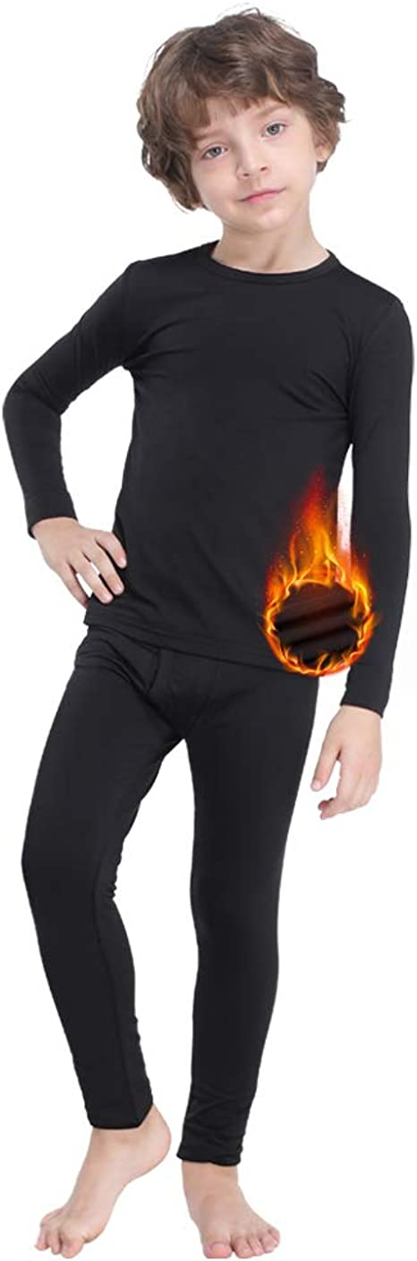 MANCYFIT Thermal Underwear for Women Long Johns Set Fleece Lined Ultra Soft 3 Pack