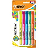 Bic BLP51W-Ast Brite Liner Highlighter Assorted Chisel Tip, 5-pack