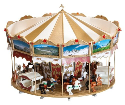 Merry Christmas Train - Faller 140316 Merry Go Round HO Scale Building Kit