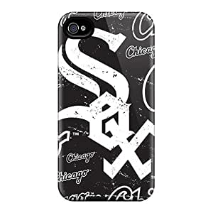 Premium Tpu Chicago White Sox Cover Skin For Iphone 4/4s