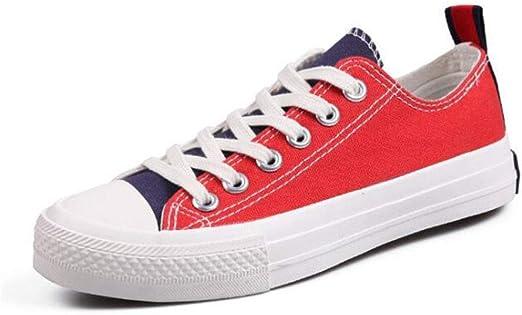Low Top Classic Canvas Zapatillas de deporte de moda Zapatillas de ...