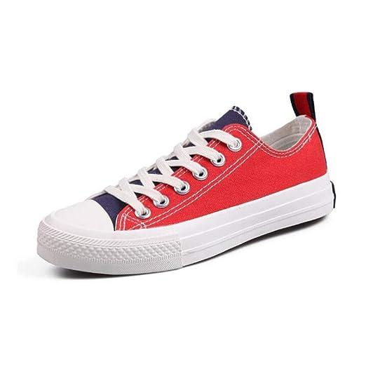 Low Top Classic Canvas Zapatillas de deporte de moda ...