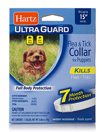 HARTZ Ultra Guard Water Resistant Protection Flea and Tick C