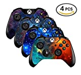 xbox one controller decal cover - UUShop Vinyl Skin Sticker Decal Cover for Microsoft Xbox One Controller - Galaxy Starry - 4 differences style