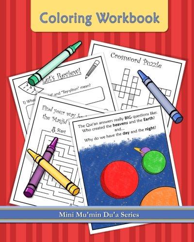 Read Online Coloring Workbook: Mini Mu'min Du'a Series ebook