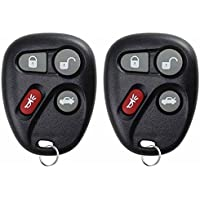 KeylessOption Keyless Entry Remote Control Car Key Fob Replacement for 25665574, 25665575 (Pack of 2)