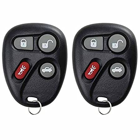 25665575 Pack of 2 KeylessOption Keyless Entry Remote Control Car Key Fob Replacement for 25665574
