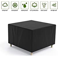 Garden Furniture Cover Outdoor Table Covers Waterproof 210D Oxford Fabric Protective Cover for Tables Rectangular Dust…