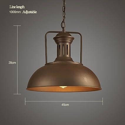 ZXD Lámparas originales retro del diseño / estilo industrial ...