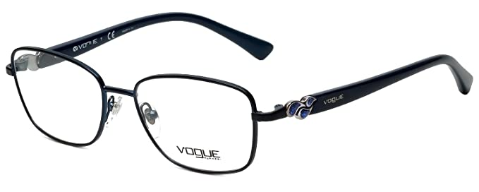 Amazon.com: Vogue Designer Eyeglass Frame VO3946-979S in Blue 52mm ...