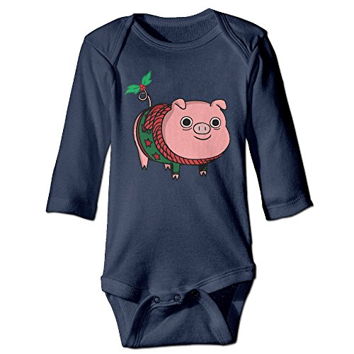 Price comparison product image Pig Christmas Original For Jumpsuit Romper Climbing Clothes Navy