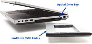 2nd HDD / SSD caddy for HP Elitebook 8560p, 8570p