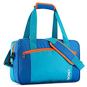 Swim Bag, Gonex Wet Dry Gym Bag for Swimming Equipment, Swimsuit, Clothes(Blue)