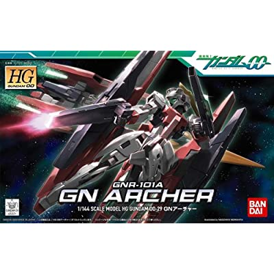 Bandai Hobby #29 GN Archer HG, Bandai Double Zero Action Figure: Toys & Games