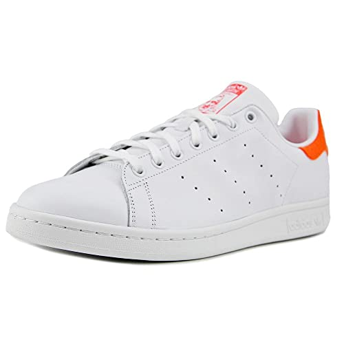 best service 506bd 0ea2d Adidas Men's Stan Smith White/Red F37640 (Size: 12): Amazon ...