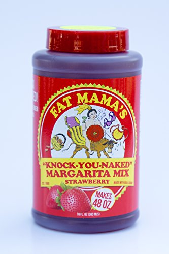 - Fat Mama's Knock-You-Naked Margarita Mix, 10 Ounce, Strawberry